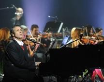 Julien Clerc en concert Symphonique à Ajaccio